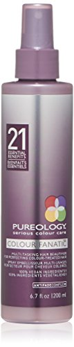 Pureology Colour Fanatic Hair Leave in Treatment Spray with 21 Benefits , 6.7 Fl. Oz