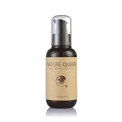 Nature Queen Anti-Aging Root Nourishing Serum | 9 Essential Oils and Peptide Complex for Thinning Hair | Moisturize and Promote Healthy Hair Growth | Safe for all Hair Types | Gluten-free
