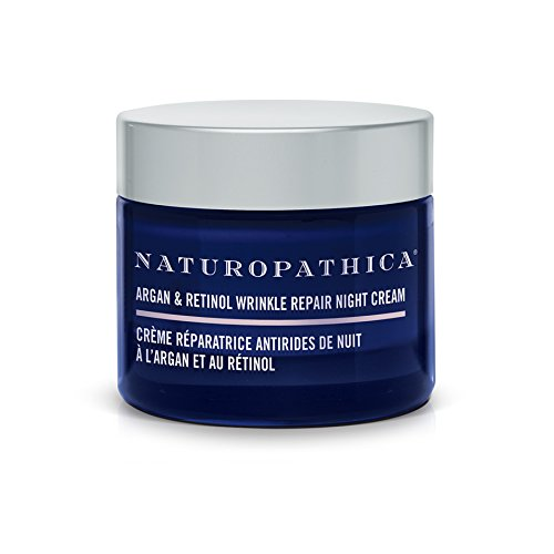 Naturopathica Argan & Retinol Wrinkle Repair Night Cream, 1.7 oz. | Moisture-rich Cream to Smooth, Tighten and Renew Skin