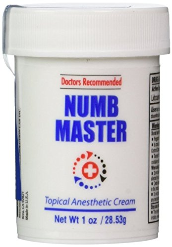 Clinical Resolution Non-Oily Numb Master Topical Anesthetic Cream (1 oz + Silicone Applicator)