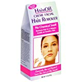 Hair Off Facial Wax Strips, 18 strips per Pack, (Pack of 3)