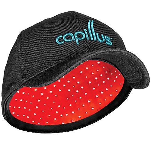 CapillusPro Mobile Laser Therapy Cap for Hair Regrowth - NEW 6 Minute Flexible-Fitting Model - FDA-Cleared for Medical Treatment of Androgenetic Alopecia - Superior Coverage