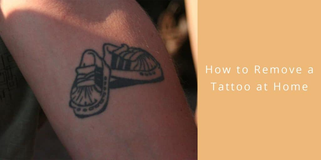 how remove tattoo home