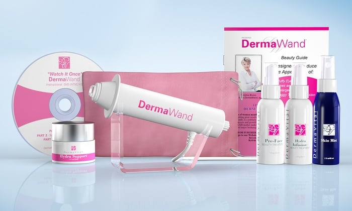 derma wand complete tv-kit anti aging system review