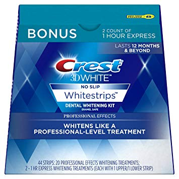 44 strips 3d crest whitening-strips