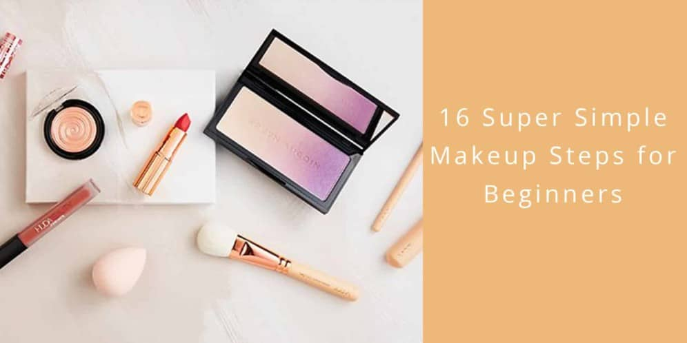 super simple makeup steps beginners