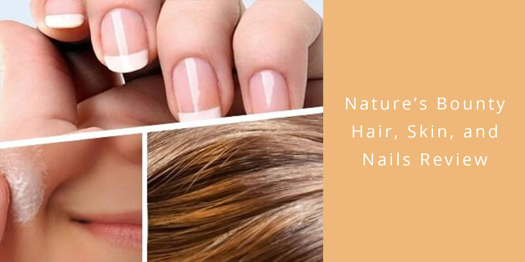 Nature S Bounty Hair Skin And Nails Review