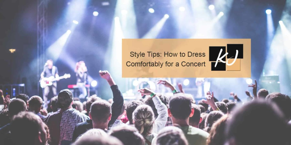 How to Dress Comfortably for a Concert