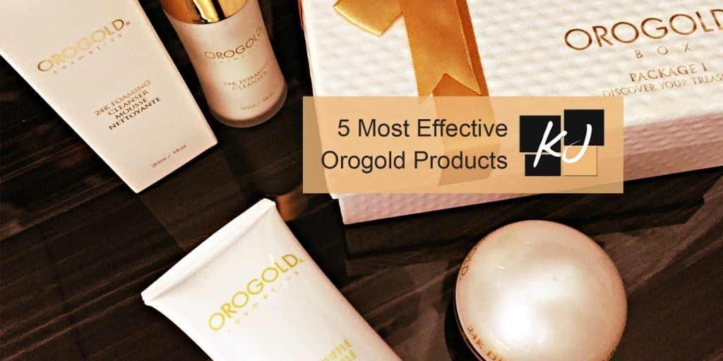 5 Most-Effective Orogold Products
