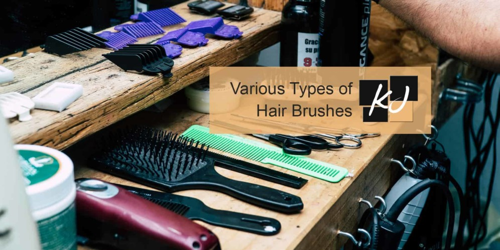 Various Types of Hair Brushes