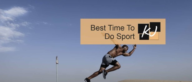What is the Best Time to Do Sport?