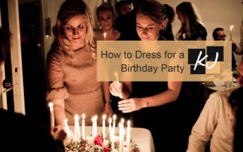How to Dress for a Birthday Party