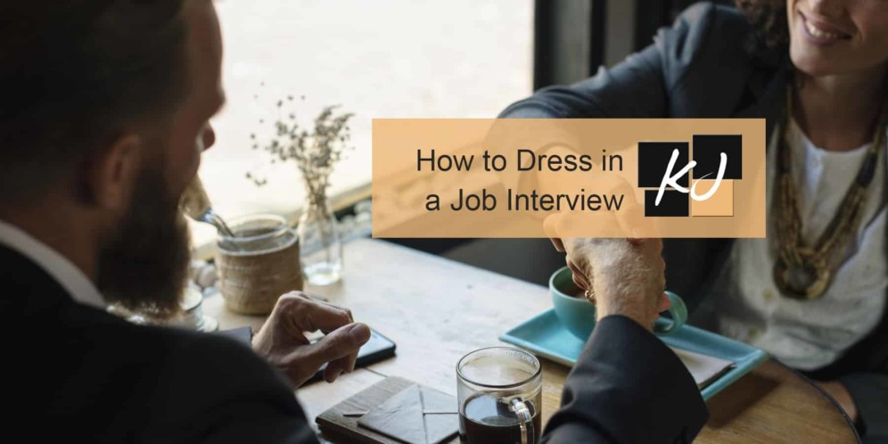 How to Dress in a Job Interview